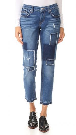 Узкие джинсы-бойфренды Mila со средней посадкой Derek Lam 10 Crosby. Цвет: голубой