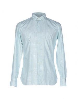 Pубашка GIAMPAOLO. Цвет: светло-зеленый