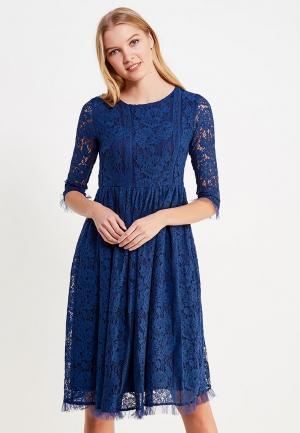 Платье Brigitte Bardot. Цвет: синий