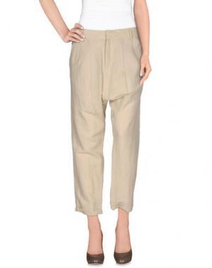 Повседневные брюки GUARAPO. Цвет: бежевый