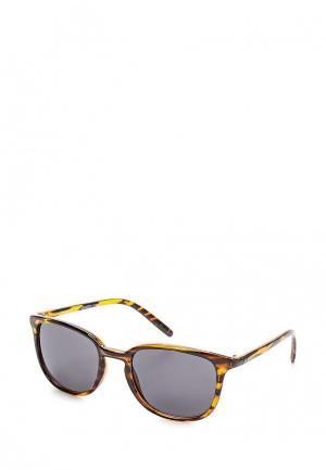 Очки солнцезащитные Mango Man. Цвет: коричневый