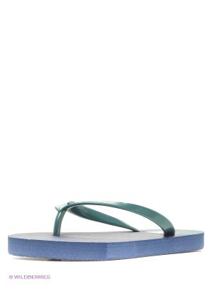 Шлепанцы Infinity Lingerie. Цвет: синий