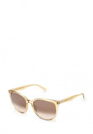 Очки солнцезащитные Celine. Цвет: золотой