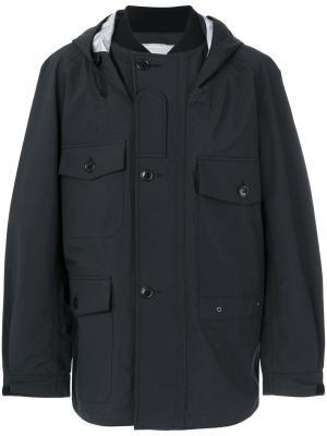 Классическое приталенное пальто Junya Watanabe Comme Des Garçons Man. Цвет: чёрный