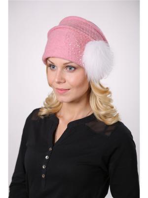 Шляпа Муза ЭтоЭльф. Цвет: розовый