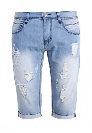 Шорты джинсовые B.Men. Цвет: голубой