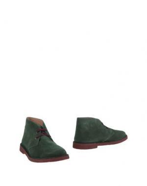 Полусапоги и высокие ботинки KEVIN UP. Цвет: зеленый-милитари
