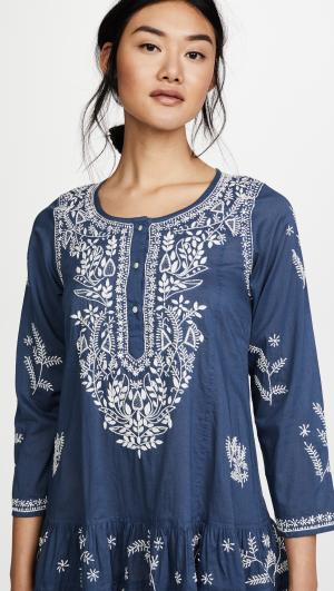 Embroidered Cover Up Dress Juliet Dunn