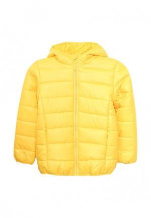Куртка утепленная Modis. Цвет: желтый