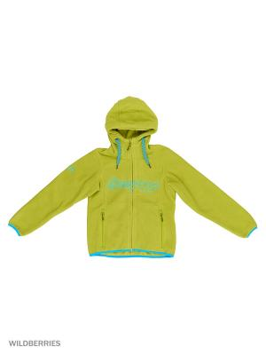 Куртка Bergans. Цвет: светло-зеленый, голубой