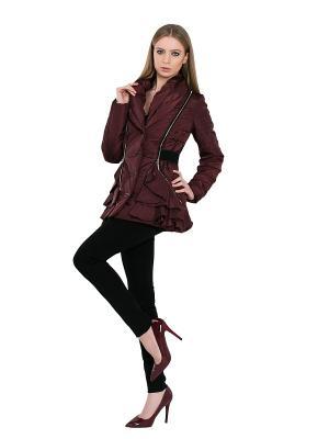 Куртка Alisa Line. Цвет: сливовый