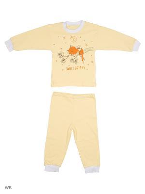Пижамы Flip. Цвет: желтый, оранжевый