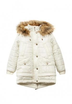 Куртка утепленная Saima. Цвет: бежевый