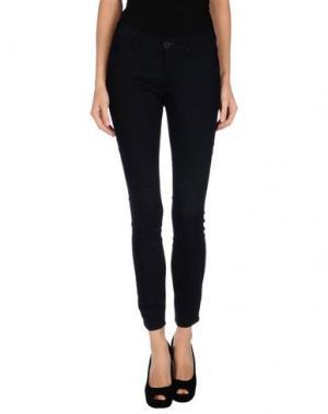 Джинсовые брюки MICHIKO KOSHINO. Цвет: темно-синий