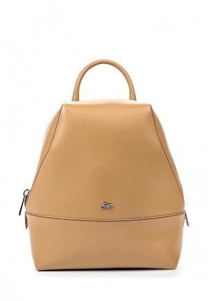 Рюкзак Jacky&Celine. Цвет: бежевый