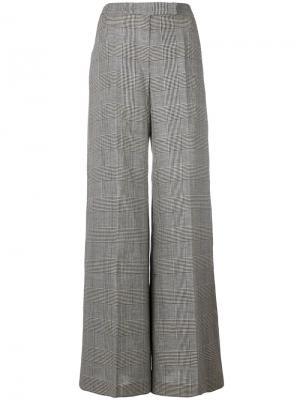 Твидовые брюки-палаццо Antonio Berardi. Цвет: чёрный