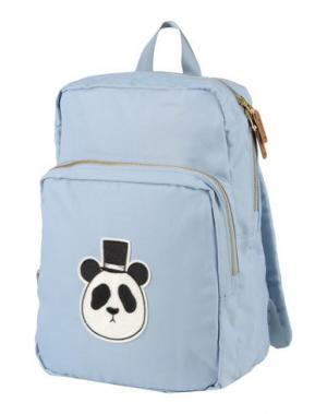 Рюкзаки и сумки на пояс MINI RODINI. Цвет: небесно-голубой