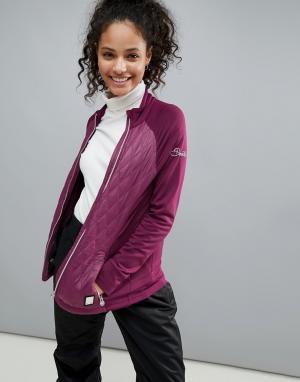 Dare 2b Эластичный горнолыжный свитер Dare2b. Цвет: фиолетовый