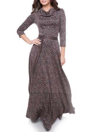 Платье Olivegrey. Цвет: черно-красный