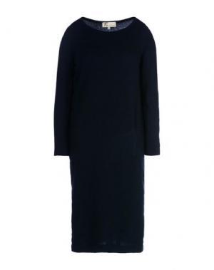 Короткое платье LOCAL APPAREL. Цвет: темно-синий