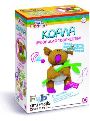 Чудо -Творчество. Fabric animals Сшей игрушку Коала. Чудо-творчество. Цвет: коричневый, белый, голубой