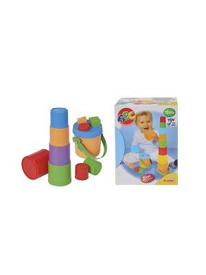 Игрушка Пирамидка-сортер, 35 см, 6/24 Simba. Цвет: красный, розовый, желтый, голубой
