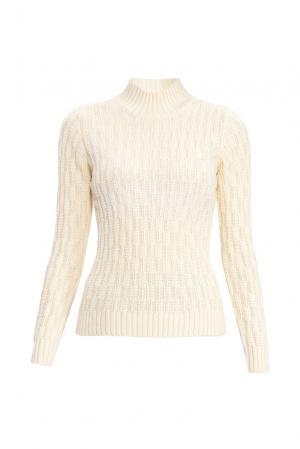 Джемпер из шелка с кашемиром 138070 Sweet Sweaters. Цвет: бежевый
