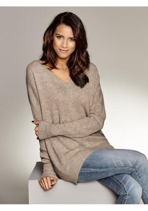 Пуловер B.C. BEST CONNECTIONS. Цвет: серый меланжевый