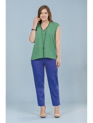 Блузка LALIS. Цвет: зеленый
