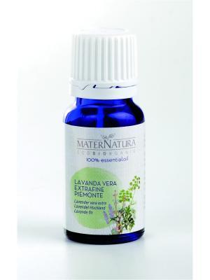 Эфирное Масло Лаванда настоящая Lavender vera extra, 10 мл Mater Natura. Цвет: темно-зеленый