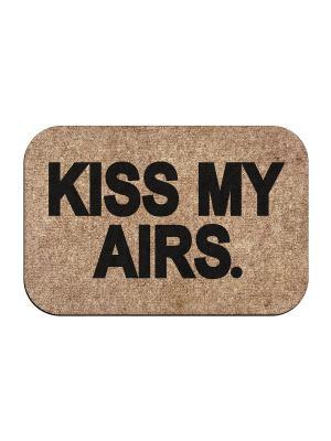 Коврик придверный Kiss airs MoiKovrik. Цвет: темно-бежевый