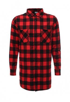 Рубашка Urban Classics. Цвет: красный