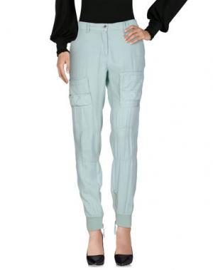 Повседневные брюки AERONAUTICA MILITARE. Цвет: светло-зеленый