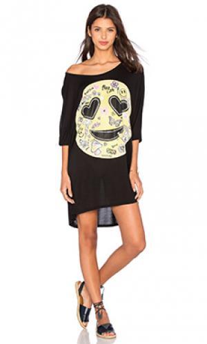 Платье milly Lauren Moshi. Цвет: черный