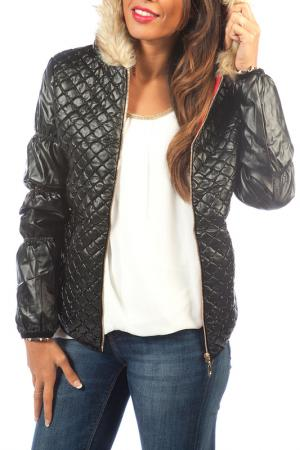 Куртка La Belle Helene. Цвет: черный