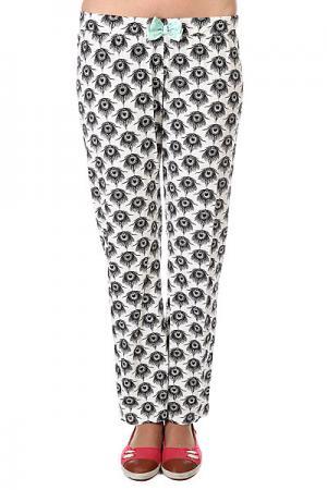 Штаны прямые женские  Helen Ivory Element. Цвет: белый,черный