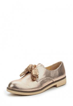 Ботинки Wellspring. Цвет: золотой