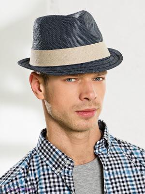 Шляпа Goorin Brothers. Цвет: серо-голубой, светло-бежевый
