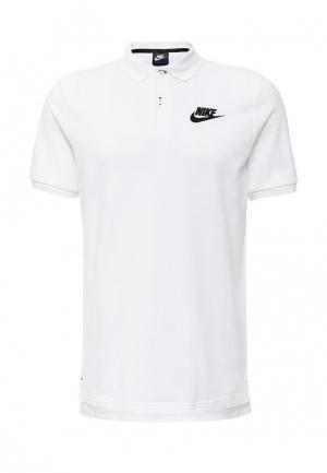 Поло Nike. Цвет: белый