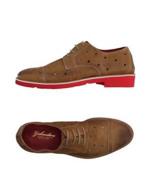 Обувь на шнурках GABARDINE. Цвет: бежевый