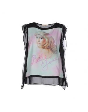 Блузка EYEDOLL. Цвет: черный