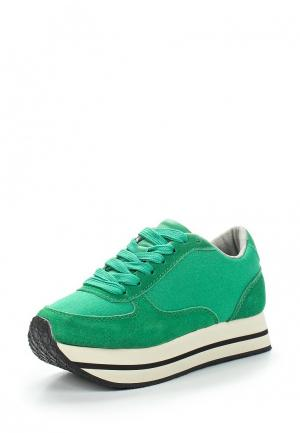 Кроссовки Gulliver. Цвет: зеленый