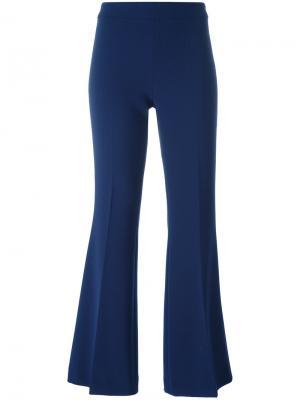 Расклешенные брюки Boutique Moschino. Цвет: синий
