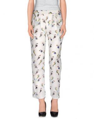Повседневные брюки CUTIE. Цвет: белый