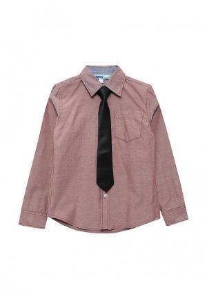 Рубашка Modis. Цвет: бордовый