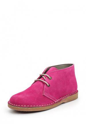 Ботинки Barritos. Цвет: розовый