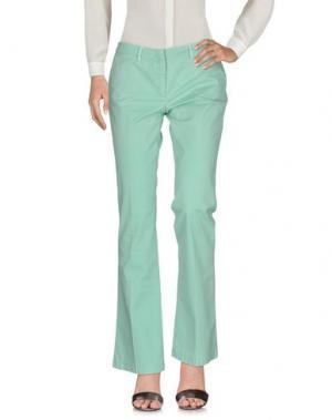 Повседневные брюки GOOD MOOD. Цвет: светло-зеленый