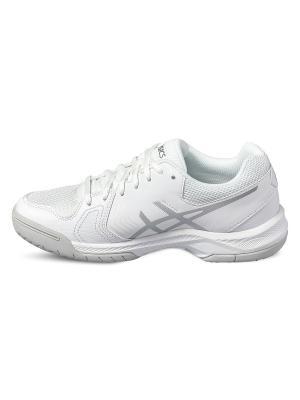 Спортивная обувь GEL-DEDICATE 5 ASICS. Цвет: белый, серебристый