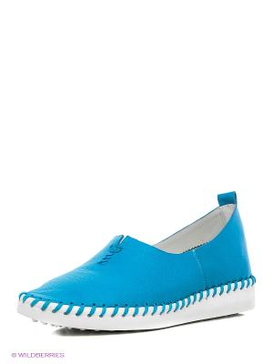 Балетки Vitacci. Цвет: голубой