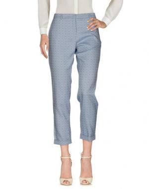 Повседневные брюки 19.70 NINETEEN SEVENTY. Цвет: лазурный